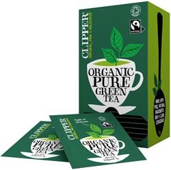 Thee Clipper Fairtrade Green bio 25stuks