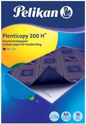 Carbon Handschrift Pelikan A4 200H 10v blauw