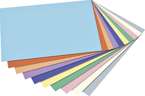 Fotokarton Folia 2zijdig A4 blok à 20 vel ass-2
