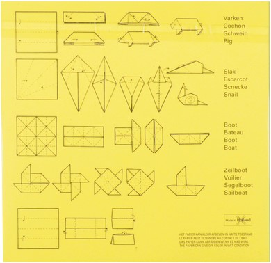 Vouwkartons vierkant 12x12cm 105gram assorti-3