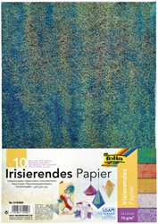 Iriserend papier Folia 23x33cm 75gr