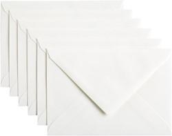 Envelop Papicolor C6 114x162mm hagelwit