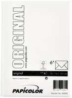 Envelop Papicolor C6 114x162mm hagelwit-3