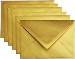 Envelop Papicolor C6 114x162mm metallic goud