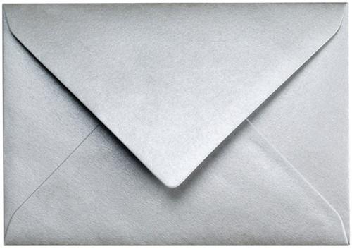 Envelop Papicolor C6 114x162mm metallic zilver-2