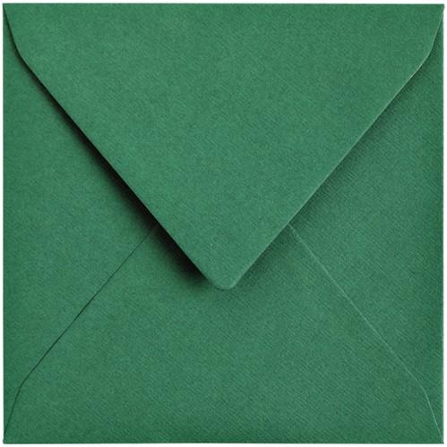 Envelop Papicolor 140x140mm dennengroen-2
