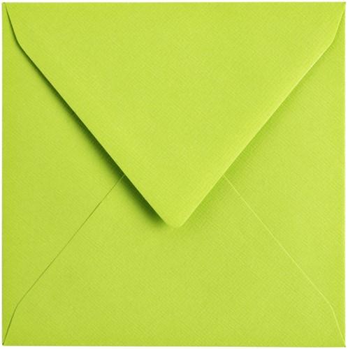 Envelop Papicolor 140x140mm appelgroen-2