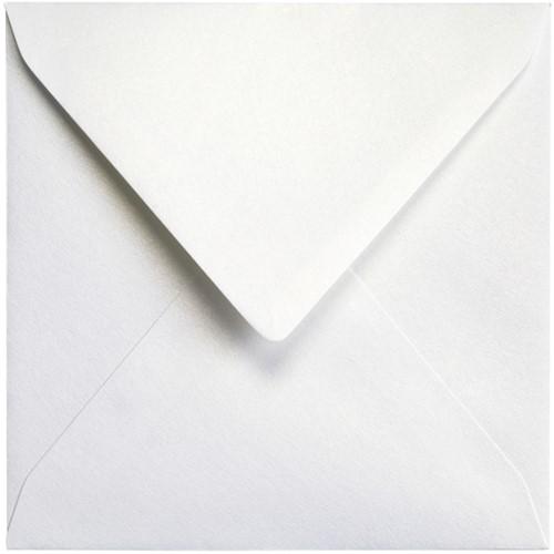 Envelop Papicolor 140x140mm Parelwit-2