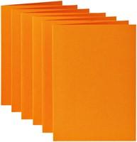 Correspondentiekaart Papicolor dubbel 105x148mm oranje-2
