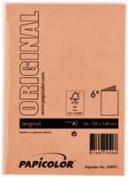 Correspondentiekaart Papicolor dubbel 105x148mm oranje-3