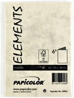 Correspondentiekaart Papicolor dubbel 105x148mm ivoor-3