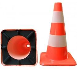 Verkeerskegel basic 30cm 1 band ref