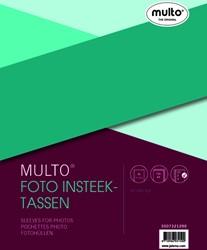 Fototas Multo 23R 10X15cm 4vakken 0.12mm