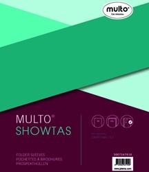 Showtas Multo A5 17-gaats PP 0.14mm glad