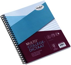Collegedictaat Multo 17R gelinieerd 80gr 80vel