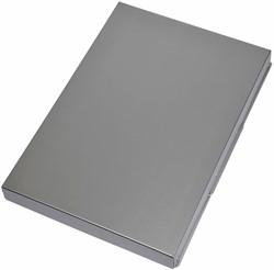 Klembordkoffer Maul Assist A4 zijopening aluminium