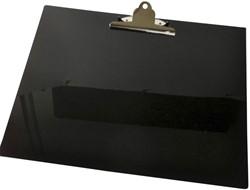 Klembord LPC A3 dwars met vlinderklem zwart