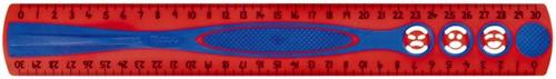 Liniaal Maped 278610 Kidygrip 300mm assorti-3