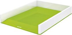 Brievenbak Leitz WOW A4 wit/groen