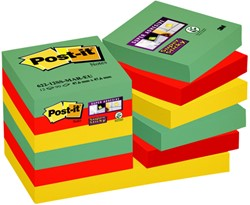 Memoblok 3M Post-it 622 Super Sticky 47.6x47.6mm Marrakesh
