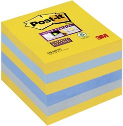 Memoblok 3M Post-it 654 Super Sticky 76x76mm New York