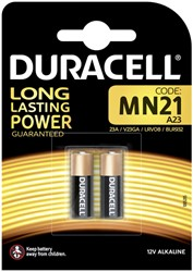 Batterij Duracell 2xMN21 alkaline