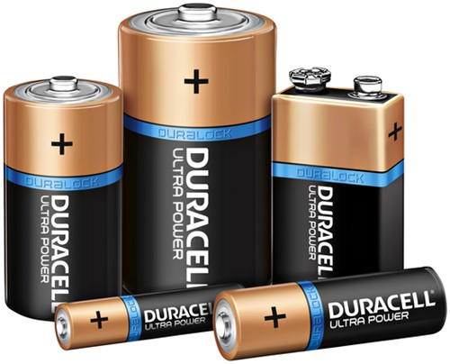 Batterij Duracell Ultra Power 4xAAA-3