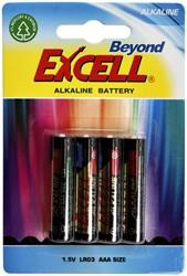 Batterij Budget AAA alkaline