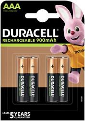 Batterij oplaadbaar Duracell 4xAAA 900mAh Ultra
