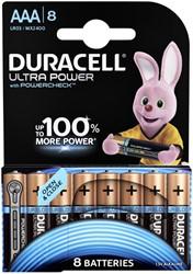 Batterij Duracell Ultra Power 8xAAA alkaline