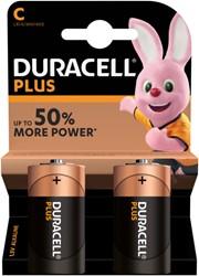 Batterij Duracell Plus Power 2xC MN1400