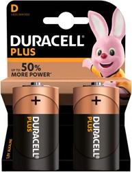 Batterij Duracell Plus Power 2xD MN1300