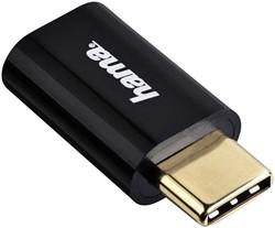 Adapter Hama 2.0 USB Mirco naar USB-C
