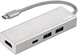 Hub Hama 3.1 USB-C naar USB-A 2x + USB-C + HDMI