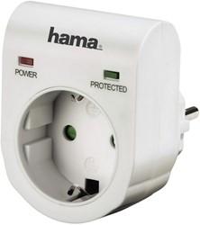 Doorvoerstekker Hama overspanningsbeveiliging