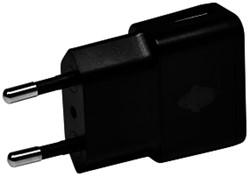 Oplader Green Mouse USB-A 1A zwart