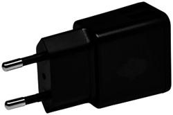 Oplader Green Mouse Dual USB-A 2.4A zwart