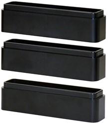 Monitor standaard verhoogblokjes zwart