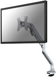 "Monitorarm Newstar D750 10-32"" zilver"