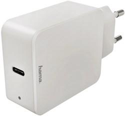 Oplader Hama USB-C 18W wit