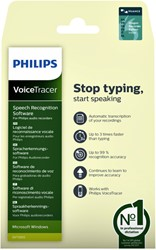 Licentie Philips spraakherkenningssoftware voicetrackers