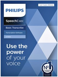 Licentie Philips LFH4622 SpeechExec Basic Transcribe