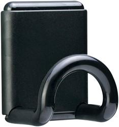 Kapstokhaak magneet Unilux Fil 1 haak zwart