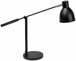Bureaulamp MAULfinja met voet zwart