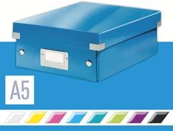 Sorteerbox Leitz WOW Click & Store 220x100x282mm blauw