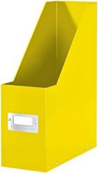 Tijdschiftcassette Leitz WOW Click & Store geel