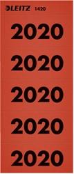 Rugetiket Leitz 2020 rood