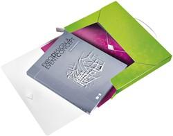 Documentenbox Leitz WOW 30mm PP groen