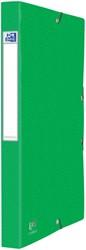 Elastobox Oxford Eurofolio A4 25mm groen