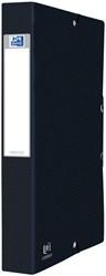 Elastobox Oxford Eurofolio A4 40mm zwart